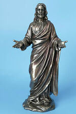 jesus,bronziert,22cm,figur,veronese,prediger,bibel,christentum,jesus christus,