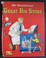 Mr. Shortsleeves' Great Big Store - Edith Thacher Hurd hc/g 1952 RARE!