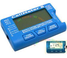 Updated CellMeter 8 Voltage 1-8S LiPo Li-lon NiMH Battery Capacity Checker Meter