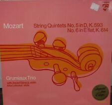 Mozart Grumiaux Trio Vol 3 33RPM Streichquintett Nr 5 D-dur KV 593   012117LLE