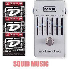 MXR M-109S Six Band Graphic EQ Equalizer M109S Pedal 6 BAND ( 3 STRING SETS )