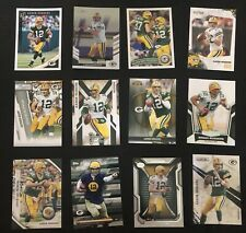 Lot Of 50 Green Bay Packers Cards Plus An Additional 5 Aaron Rogers Cards