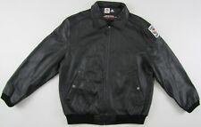 Adidas World Cup Team 2006 Germany leather jacket Limited Edition black Medium M