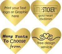 Gold Star stickers invitation Personalised Labels Name Seals customised 50