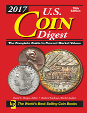 "DIGITAL BOOK ""US COIN DIGEST"" COMPLETE GUIDE TO CURRENT MARKET VALUES 2017"