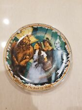 From The Brush Up Wizard Of Oz Bradford Exchange Plate