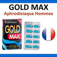 GOLDMAX x10 - Aphrodisiaque Pour Hommes - 100% Naturel