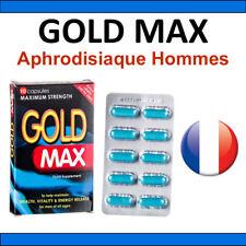 Aphrodisiaque Homme GOLD MAX 10 gélules - EFFET GARANTI POWERTABS POWER TABS