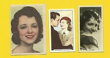 Janet Gaynor with Warner Baxter Fab Card Collection Actress A