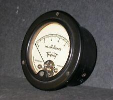 Vintage Triplett Dc Milliamperes Panel Meter 321 Measures 0 1 Ma 3 12