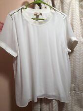 Michael Kors white top blouse