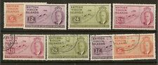 Br Virigns 1951 Council SG132-135 Mint & Used Cat£12