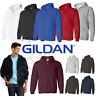 Gildan Men's Full Zip Up Heavy Blended Hooded Sweatshirt / Hoodie 18600