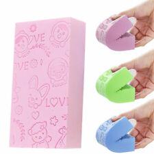 4Pcs Adult Kid Soft Exfoliating Skin Bath Shower Spa Brush Washing Sponge Pad