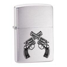 Personalised Guns Design Genuine Zippo Lighter Birthday Gift Free Engraving