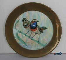 Sammel-& Zierteller aus Porzellan mit Teller für Vogel