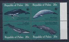 Palau 20/23 postfrisch / Wale WWF (4198) .......................................