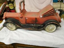 JE BURKE VINTAGE PLAYGROUND MODEL T ROADSTER CAR SPRING RIDER