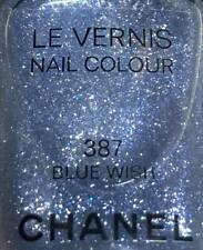 chanel nail polish 387 BLUE WISH rare limited edition VINTAGE