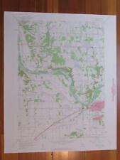 Grandville Michigan 1960 Original Vintage USGS Topo Map