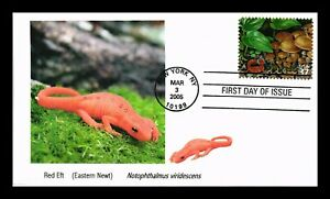 DR JIM STAMPS US RED EFT LIMITED EDITION FDC COVER NORTHEAST DECIDUOUS FOREST