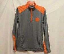 Champion CLEMSON TIGERS Orange/Gray, Zip Front Track Jacket. Women's Small