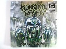 MUNICIPAL WASTE SLIME AND PUNISHMENT LP 2017 SEALED U.S. GREEN VINYL THRASH CORE