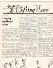 IronMan Lifting News Muscle Weightlifting Magazine/Plyukfelder's Snatch 4-63