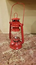 Functional / Decoartive Red Oil Table Lantern Lamp Light, Fall Camping Outdoors