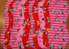 Minnie Mouse handmade burp cloth double flannel