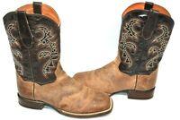 Dan Post Western Boots SZ 9 D Mens Franklin Cowboy Mad Cat Sand BROWN DP2815