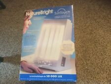 Pre Owned NatureBright SunTouch Plus Light and Ion Therapy Lamp