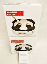 2 Worlds Best SMOKELESS ASHTRAY with Carbon Filters + 6 Replacement Filters