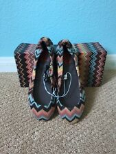 NWT Missoni for Target girls ballet flats size 1 / childrens shoes / Venetian