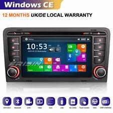 DAB+ GPS Autorradios coche para Audi A3 RS3 S3 RNSE-PU iPod 3G Bluetooth DVR DVD