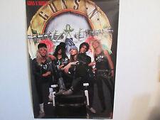 Guns n' Roses Japan Promo Poster by Warner Pioneer in Late 80's Axl Rose Slash