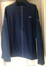 Lacoste Midlayer Technical Front Zip BlueSweatshirt Jacket #SH7401 Sze9/4XL New!