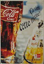 Affiche COCA COLA Ca vient cette niçoise ? Ann.'90 - 119x174 cm
