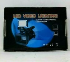 LED Video Light on Camera LED Panel with Battery Free Shipping
