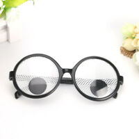 Turn the Eyeball Selfie Game Eye Patch Props Round Frame Party Gag Glasses