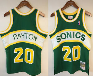 Gary Payton Seattle SuperSonics Mitchell & Ness Authentic 1994-95 Jersey Sonics