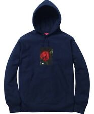40cf94d72e8e Supreme Araki Rose Hooded Sweatshirt Navy Size Large Hoodie FW16 Box Logo  New