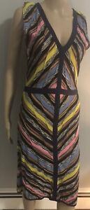 NWOT Sleeveless Multicolor Knit Dress by M Missoni sz IT 44 US 8