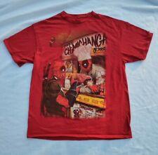Deadpool Marvel Legends Movie Shirt Large Size.
