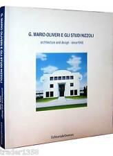 MARIO OLIVIERI STUDI NIZZOLI architecture design since 1948 EDITORIALEDOMUS 2001