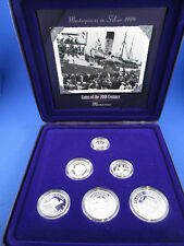 1999 Masterpieces in Silver Proof Coins of the 20th Century - Memories -