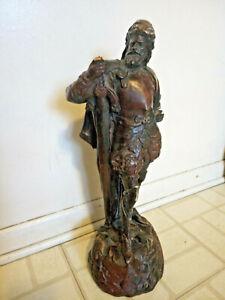 VINTAGE REPRO ATTILA TIVADAR Sculpture The Conquistador