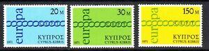 CYPRUS  1971    EUROPA SET          SG 372/4    MNH UM