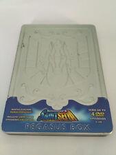 Saint Seiya Los Caballeros del Zodiaco Dvd Anime Pegasus Box Steelbook