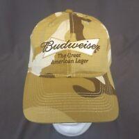 Budweiser Kasey Kahne StrapBack Hat Camo Baseball Cap Nascar #9 Racing